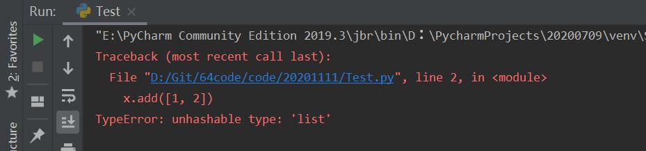Python基础语法【3】—— 结构数据类型之集合