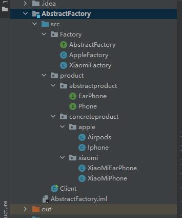 设计模式_创建型模式_对象创建型模式_Abstract Factory(抽象工厂模式)