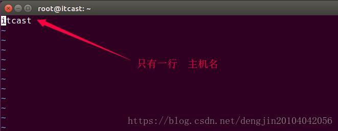 Ubuntu 修改主机名