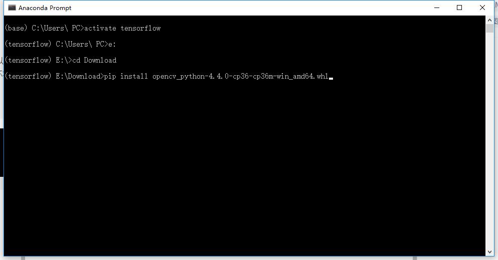 python库离线安装.whl文件